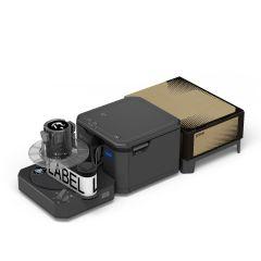 Rewinder with LW-Z5000PX Label Printer