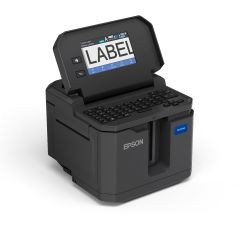 LW-Z5010PX Label Printer Touch Screen and Keyboard