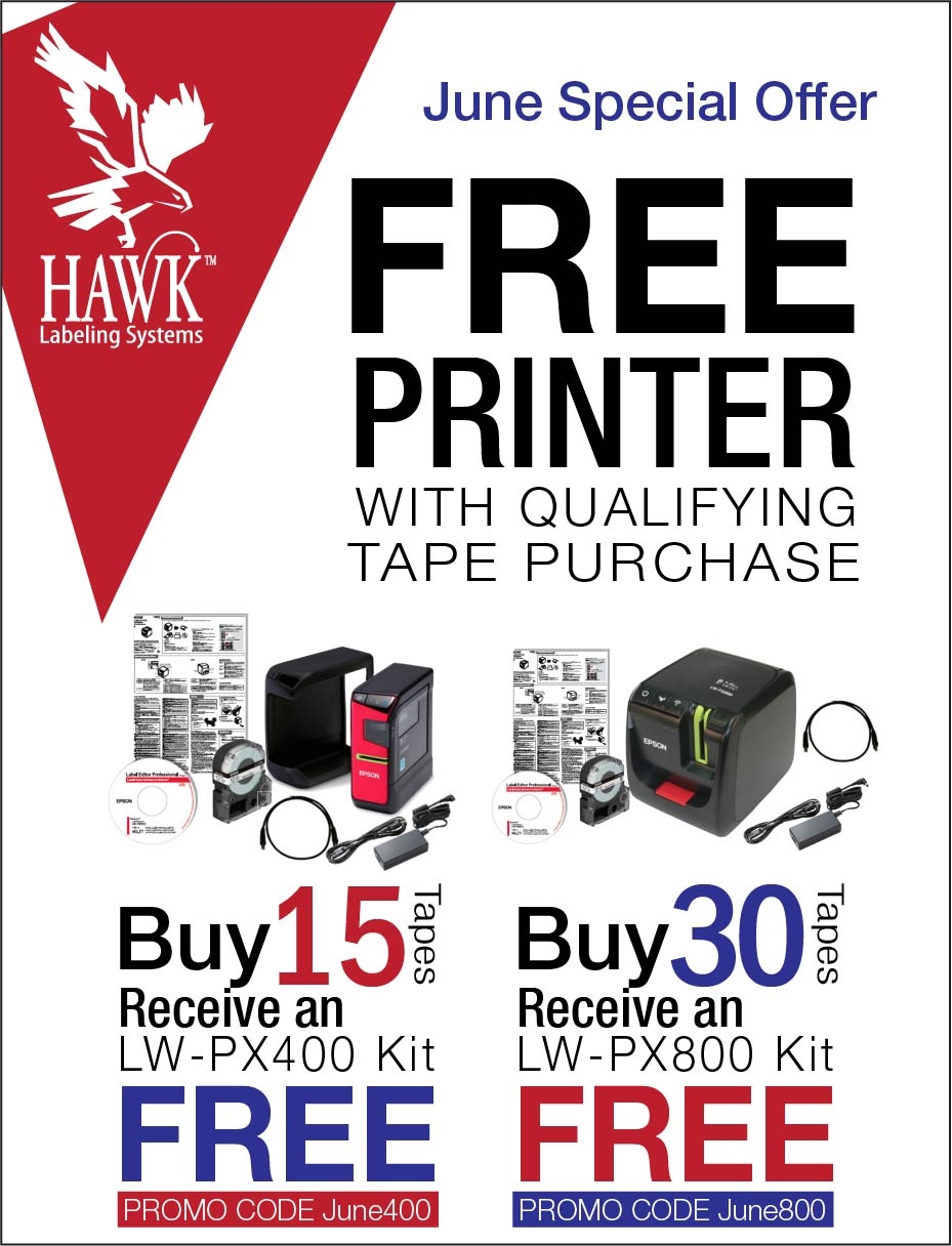 June Promo Free PX400 & PX800 with tape purhcase