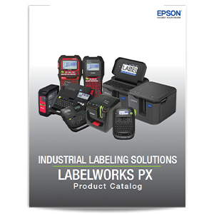 Epson LabelWorks PX Product Catalog