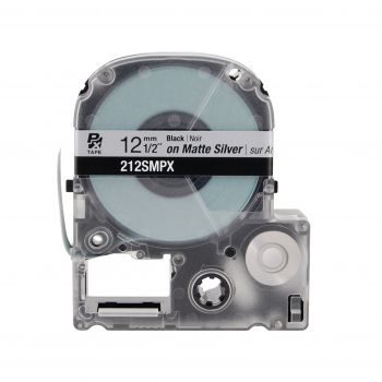 Epson LABELWORKS PX Silver Matte 1/2