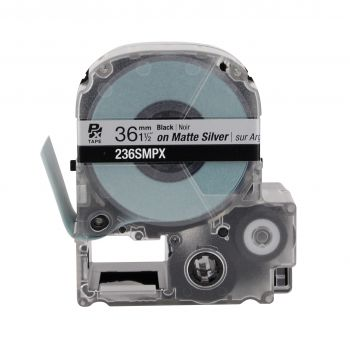 Epson LABELWORKS PX Silver Matte 1½